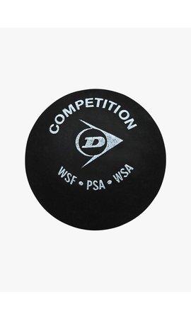 Dunlop Competition Squash Ball (single yellow dot)