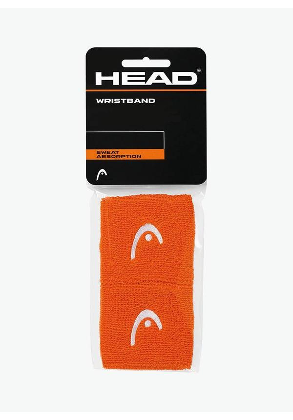"Head Wristband 2,5"" - 2 Pack - Orange"