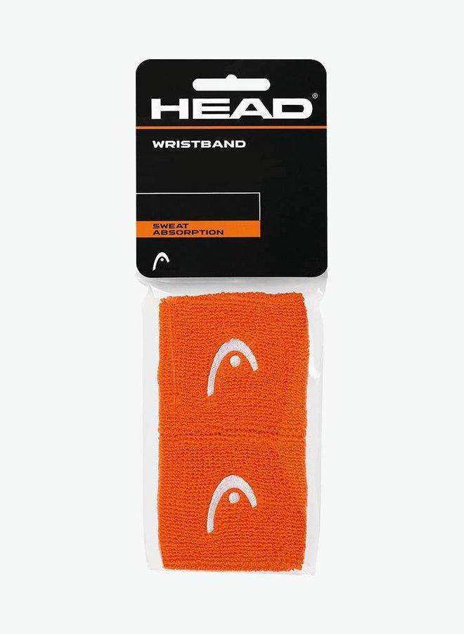 """Head Wristband 2,5"""" - 2 Pack - Orange"""