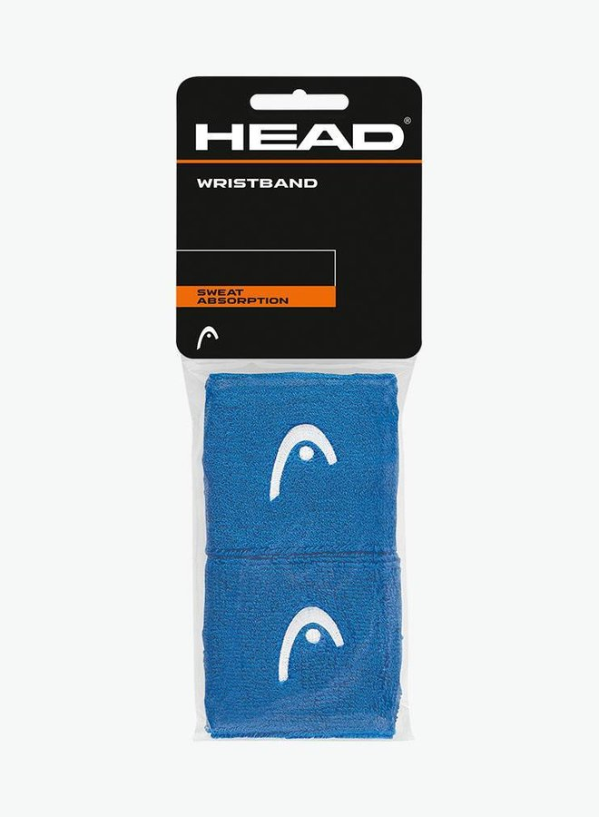 "Head Wristband 2,5"" - 2 Pack - Blue"