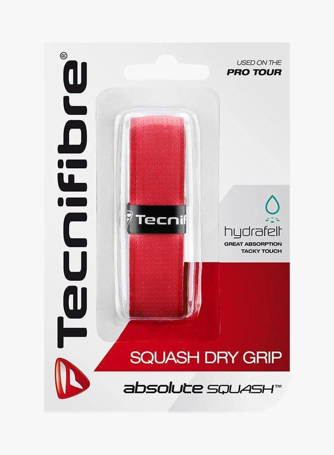 Tecnifibre Squash Dry Grip - Red