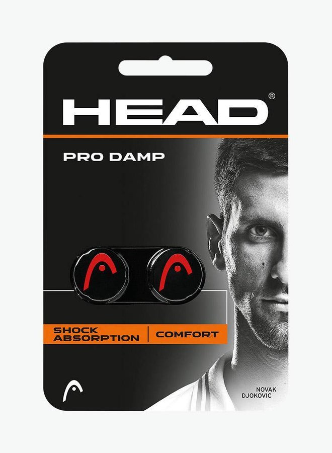 Head Pro Dampener - 2 Pack - Black / Red