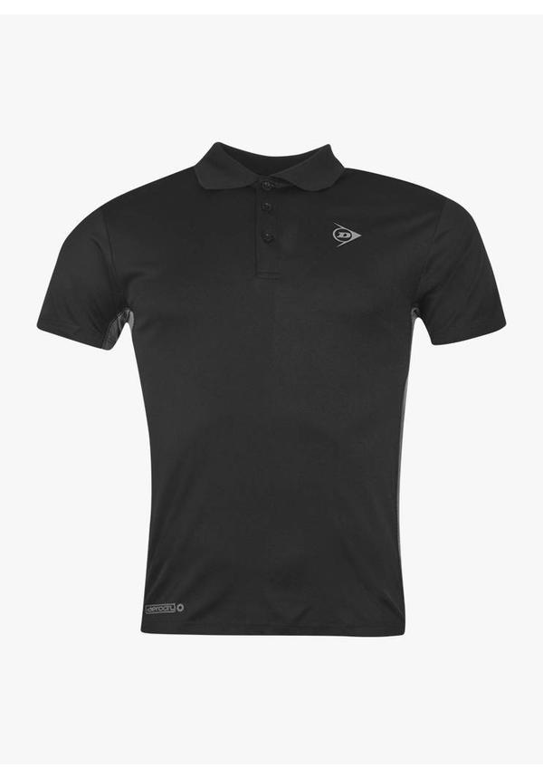 Dunlop Performance Polo Shirt - Black
