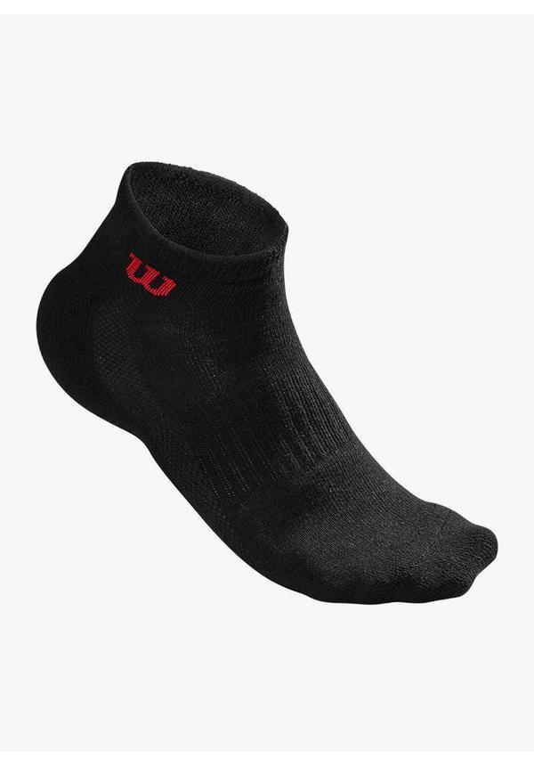 Wilson Men's Quarter Socks - 3 Pack - Black
