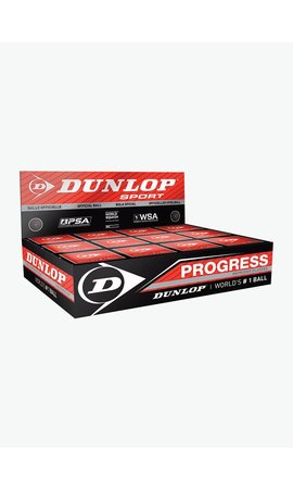 Dunlop Progress Squash Ball - Box of 12