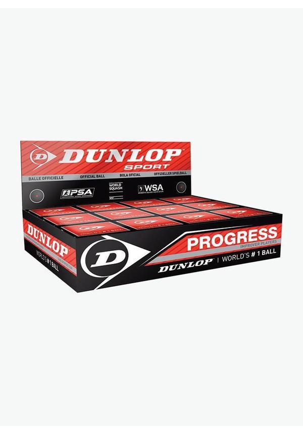 Dunlop Progress Squash Ball - Box of 12