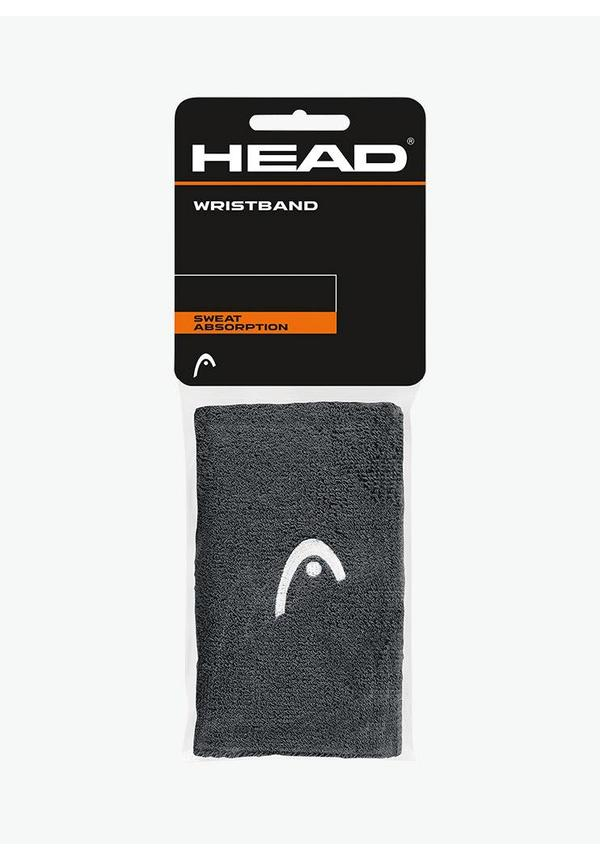 """Head Wristband 5"""" - 2 Pack - Anthracite"""
