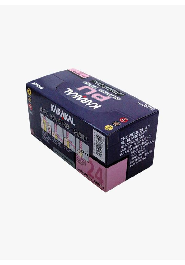 Karakal PU Super Grip Pink - Box of 24
