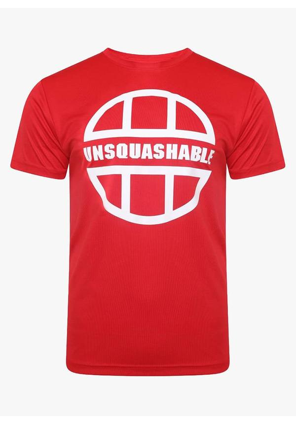 UNSQUASHABLE Training Performance Shirt - Red