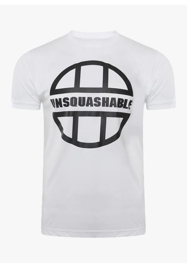 UNSQUASHABLE Training Performance Shirt - White