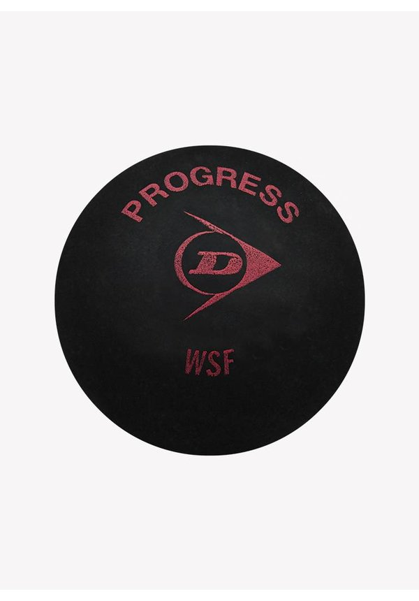 Dunlop Progress Squash Ball - 3 Pack