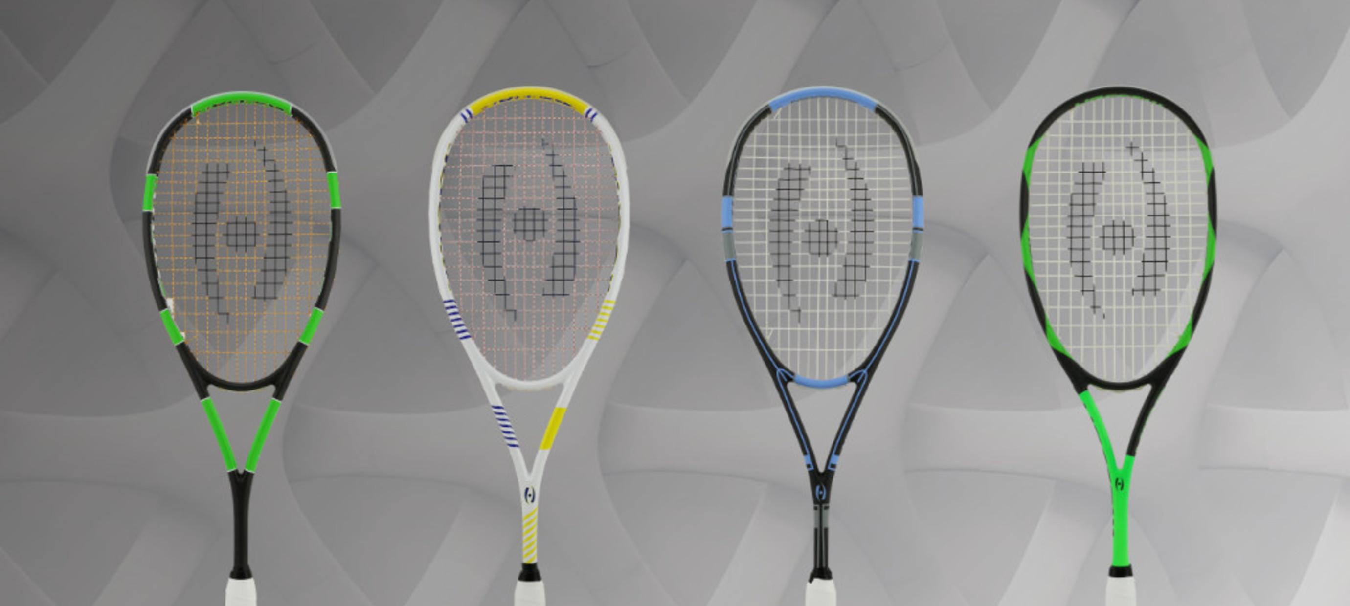 Harrow - the Ferrari of the squash rackets
