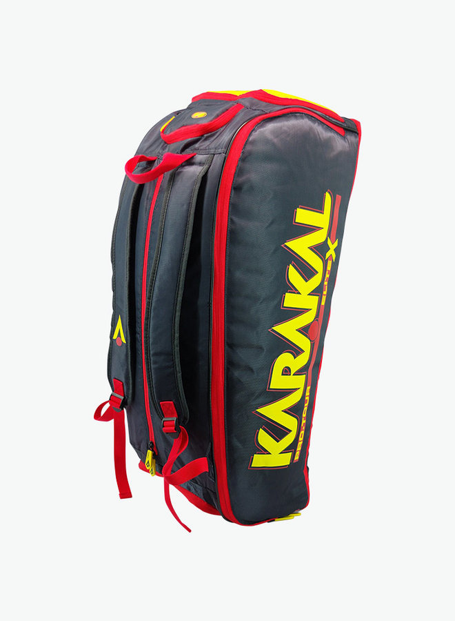 Karakal Pro Tour Elite X 12+ Expanding Racket Bag