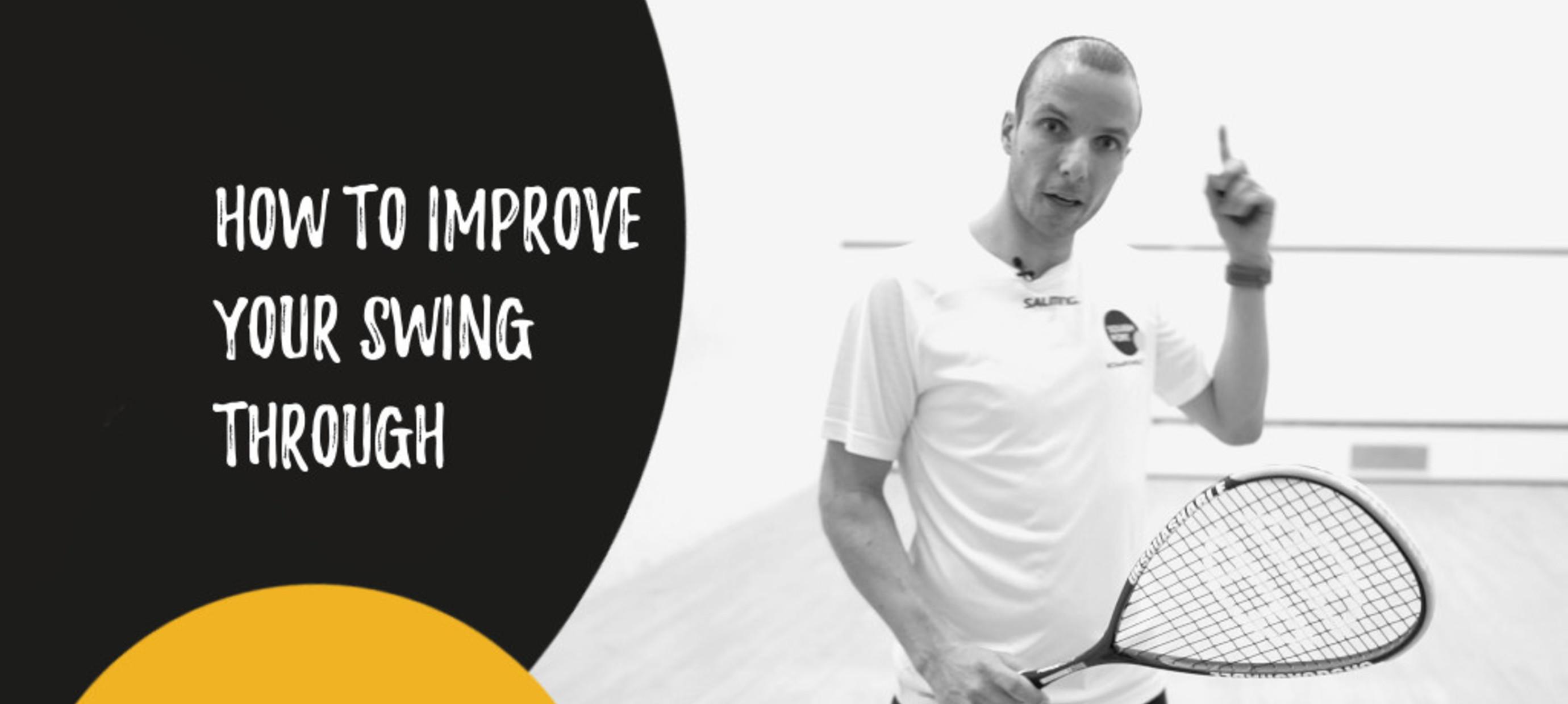 Improve your swing through