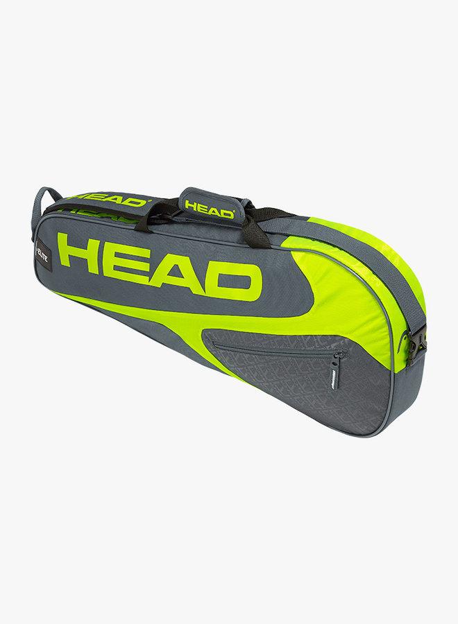 Head Elite 3R Pro - Grey / Neon Yellow