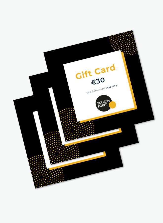 Gift Card €30