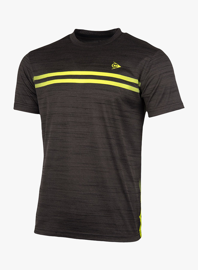Dunlop Performance Mens Crew Tee - Anthracite