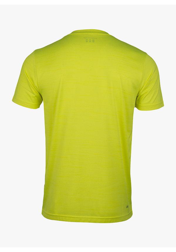Dunlop Performance Mens Crew Tee - Neon Yellow