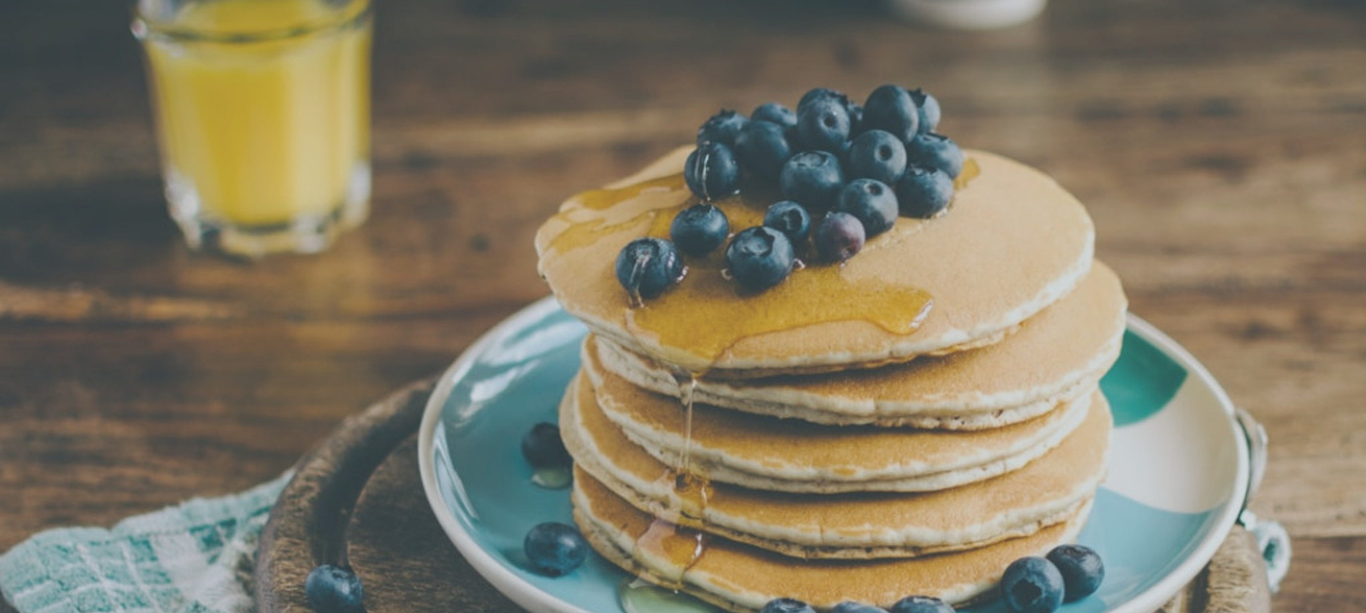 Recharge your batteries with Paul Coll's power pancakes
