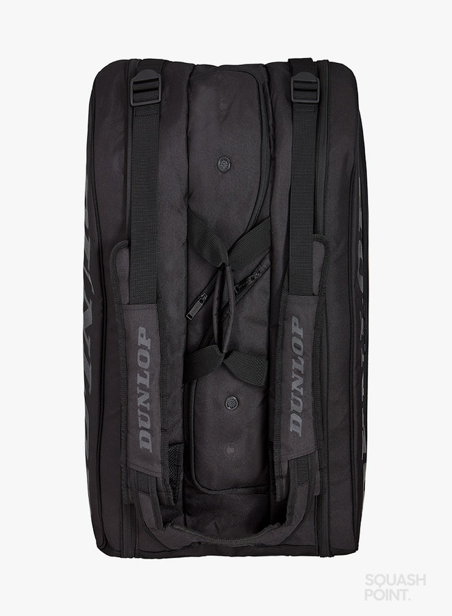 Dunlop CX Performance 15 Racket Bag  - Black