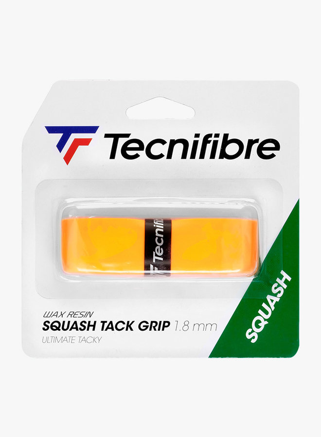 Tecnifibre Squash Tack Grip - Orange