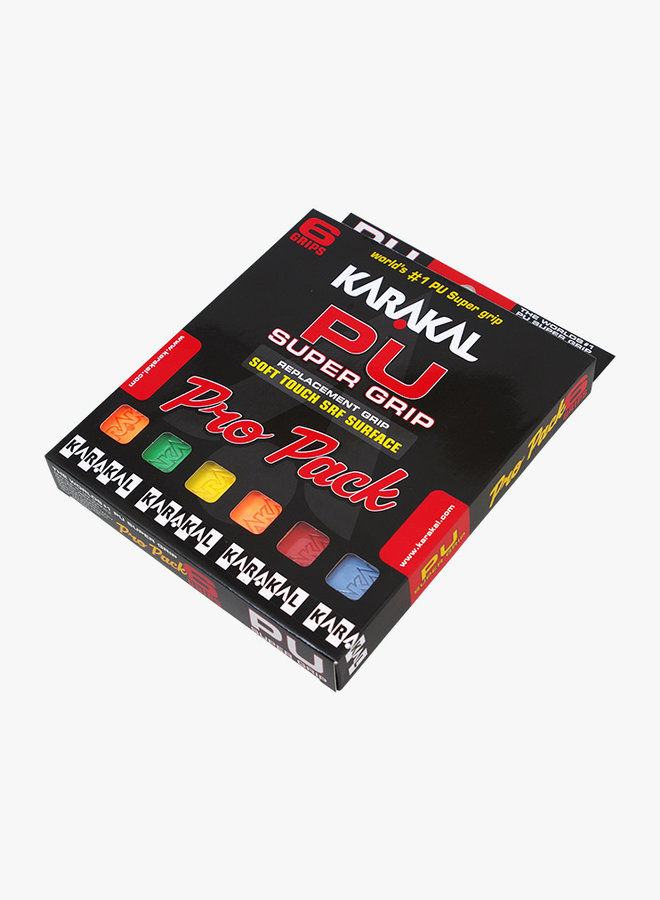Karakal PU Super Grip Assorted Pro Pack