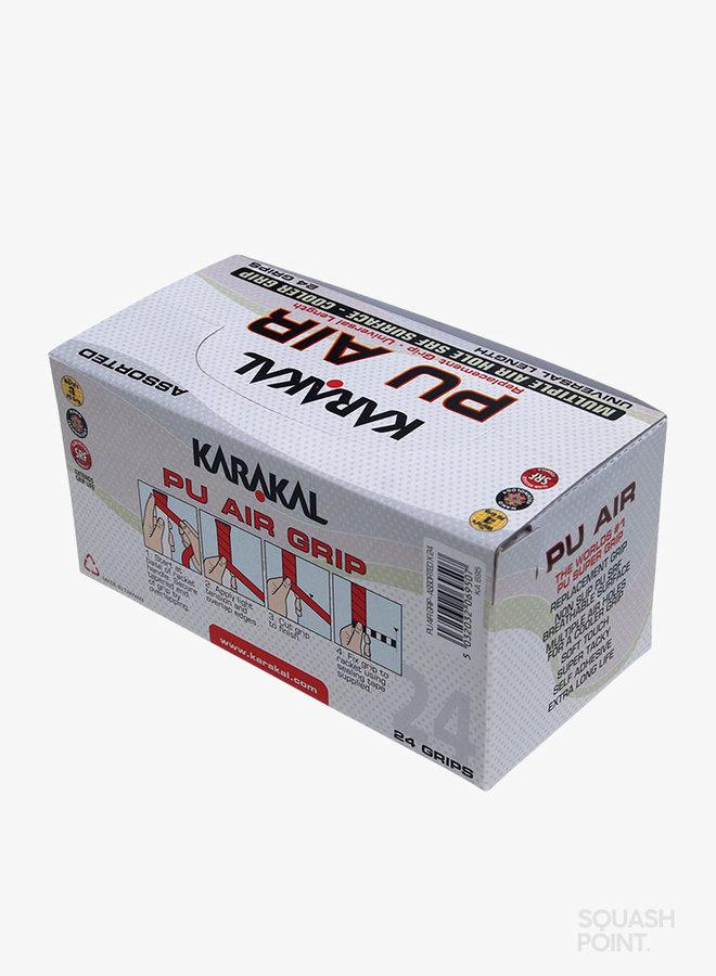 Karakal PU Super Air Grip Assorted - Box of 24
