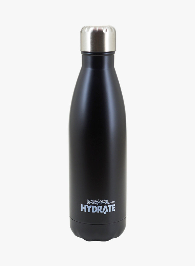 Karakal Hydrate Water Bottle - Black