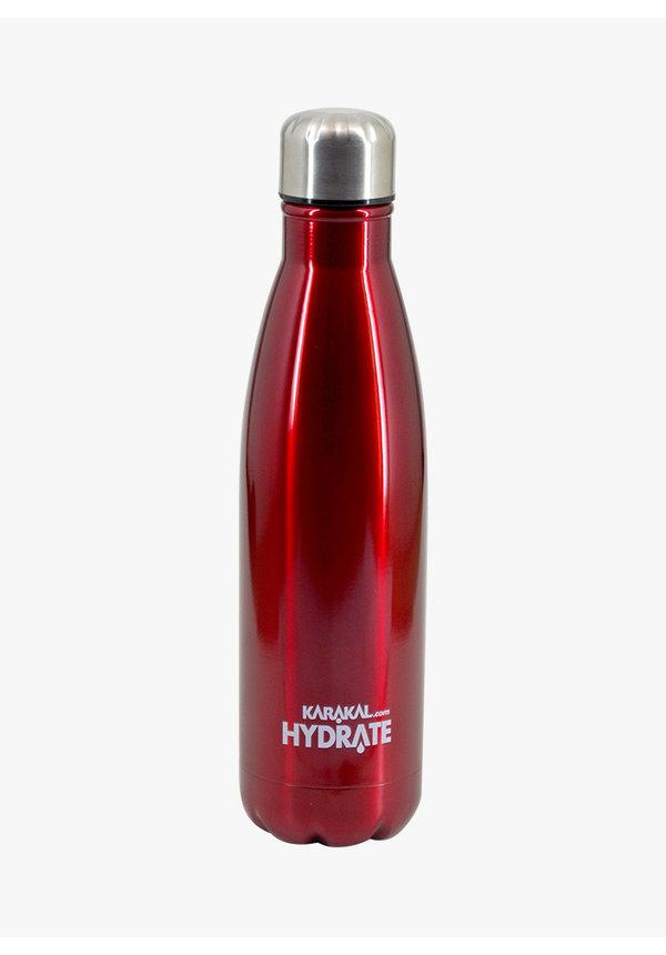 Karakal Hydrate Water Bottle - Red