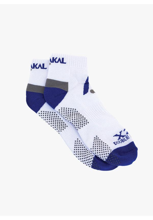 Karakal X2+ Mens Technical Trainer Socks - White /  Blue