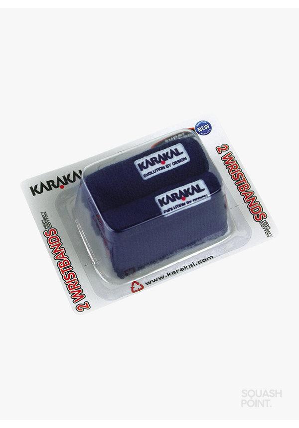 Karakal Wristband X2 - 2 Pack - Navy