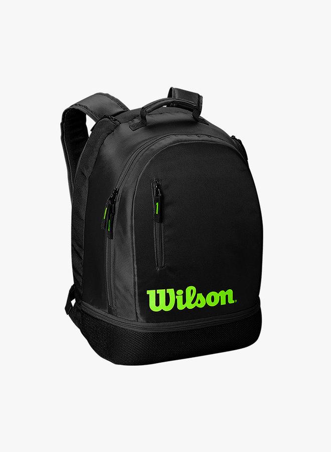 Wilson Team Backpack -  Black / Green
