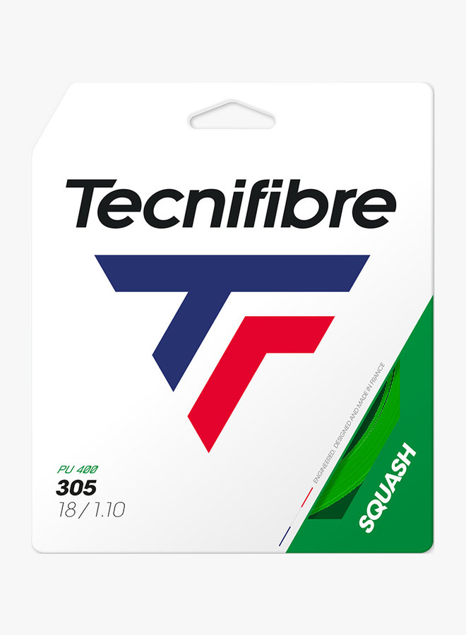 Tecnifibre 305 Squash 1,10 Green - String Set 9,7 m