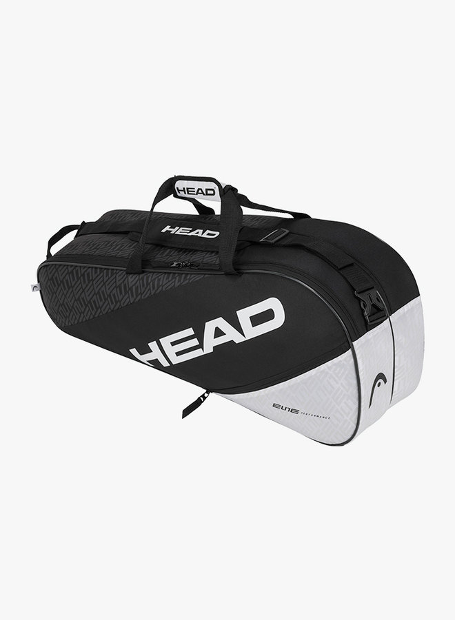 Head Elite 6R Combi  - Black / White
