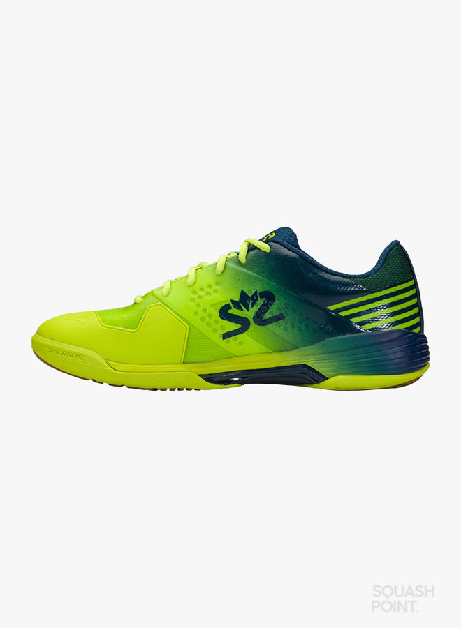 Salming Viper 5 - Fluo Green / Navy