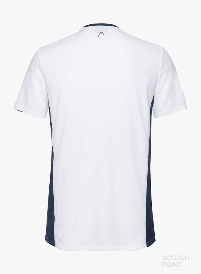Head Club Tech T-Shirt  - White / Navy
