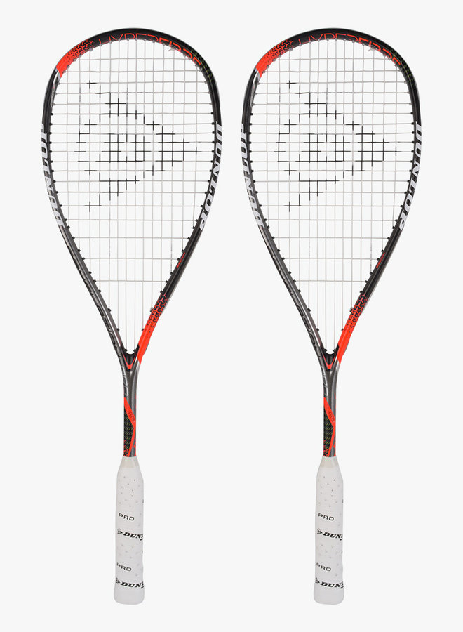 Dunlop Hyperfibre+ Revelation Pro - 2 Racket Deal