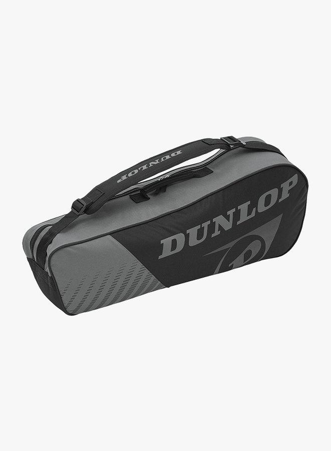Dunlop SX Club 3 Racket Bag - Black / Grey