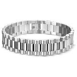 Diamant Centrum Rotterdam Huis collectie   Stalen heren armband