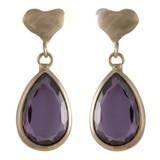 Cataleya Jewels  Queen of heart purple