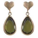 Cataleya Jewels  Cataleya queen of heart green peridot