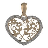 Cataleya Jewels  Cataleya Pendant Heart