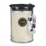 Bridgewater Candle Jar Large White Cotton