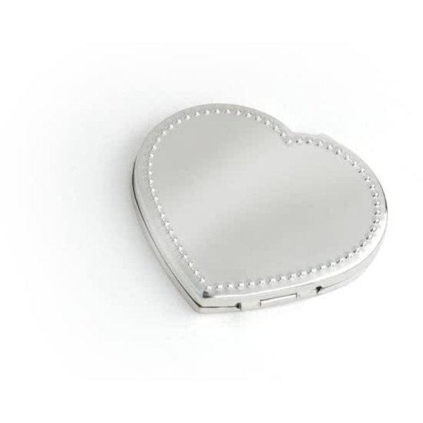 Compact mirror Heart zakspiegel