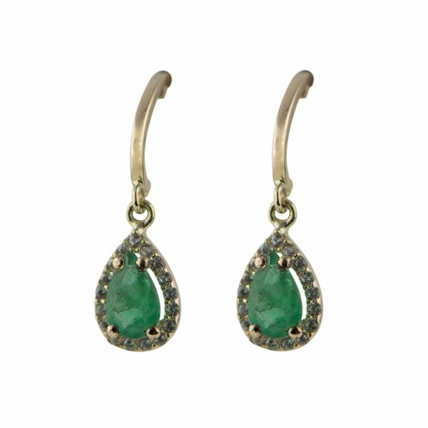 Earrings Rania Green