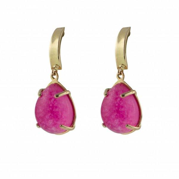 Earrings Beau Monde Spring Pink