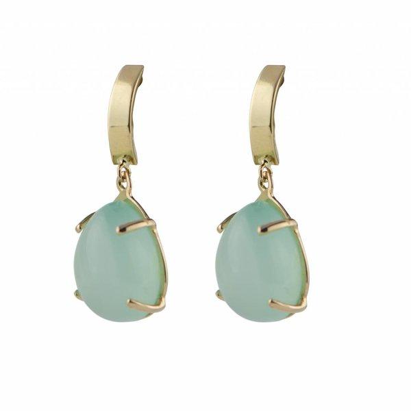 Earrings Beau Monde Intense Mint