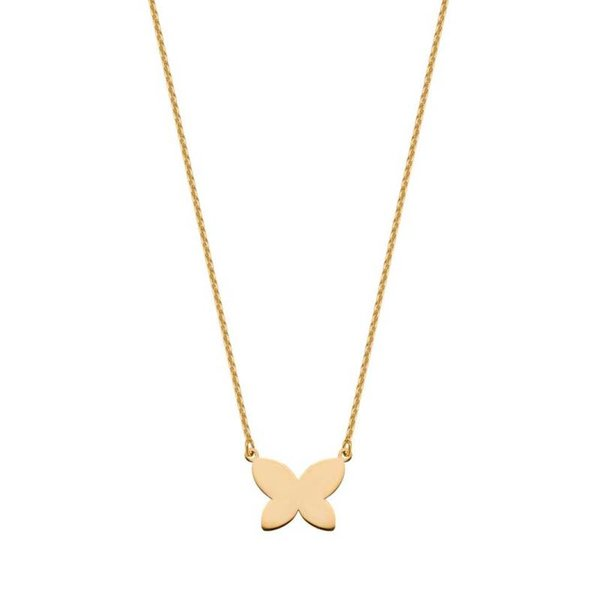 Collier Butterfly (9kt)