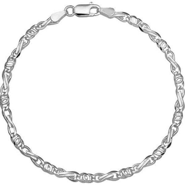 Armband Valkenoog 3,5 mm - Zilver