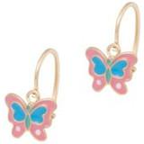 Cataleya Jewels  Earrings Kids Butterfly Pink & Blue